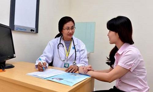 Thăm khám để bác sĩ đưa ra phác đồ điều trị tốt nhất